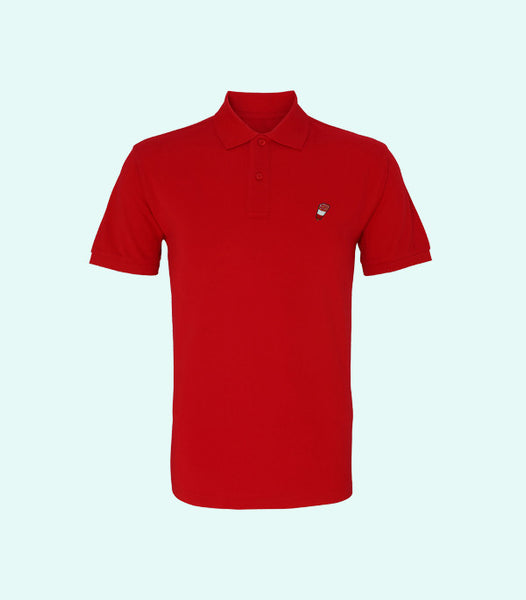 TWO X JAEJUSTJ | SUMMERTIME MADNESS FAB POLO | CHERRY RED