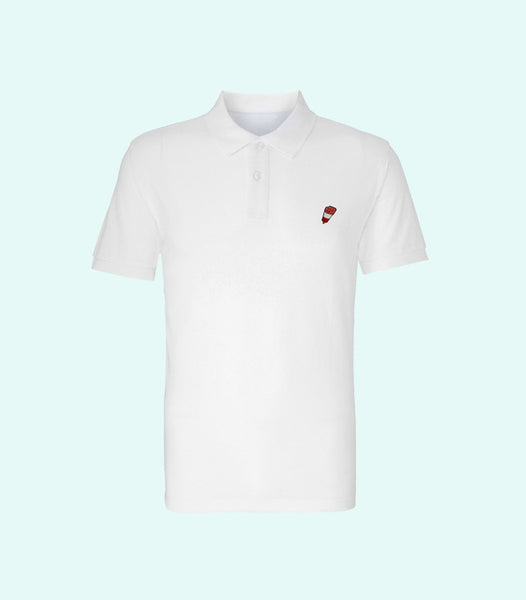 TWO X JAEJUSTJ | SUMMERTIME MADNESS FAB POLO | WHITE