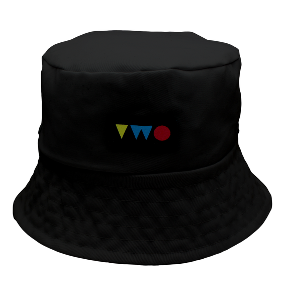 TWO PLAY BUCKET HAT | BLACK