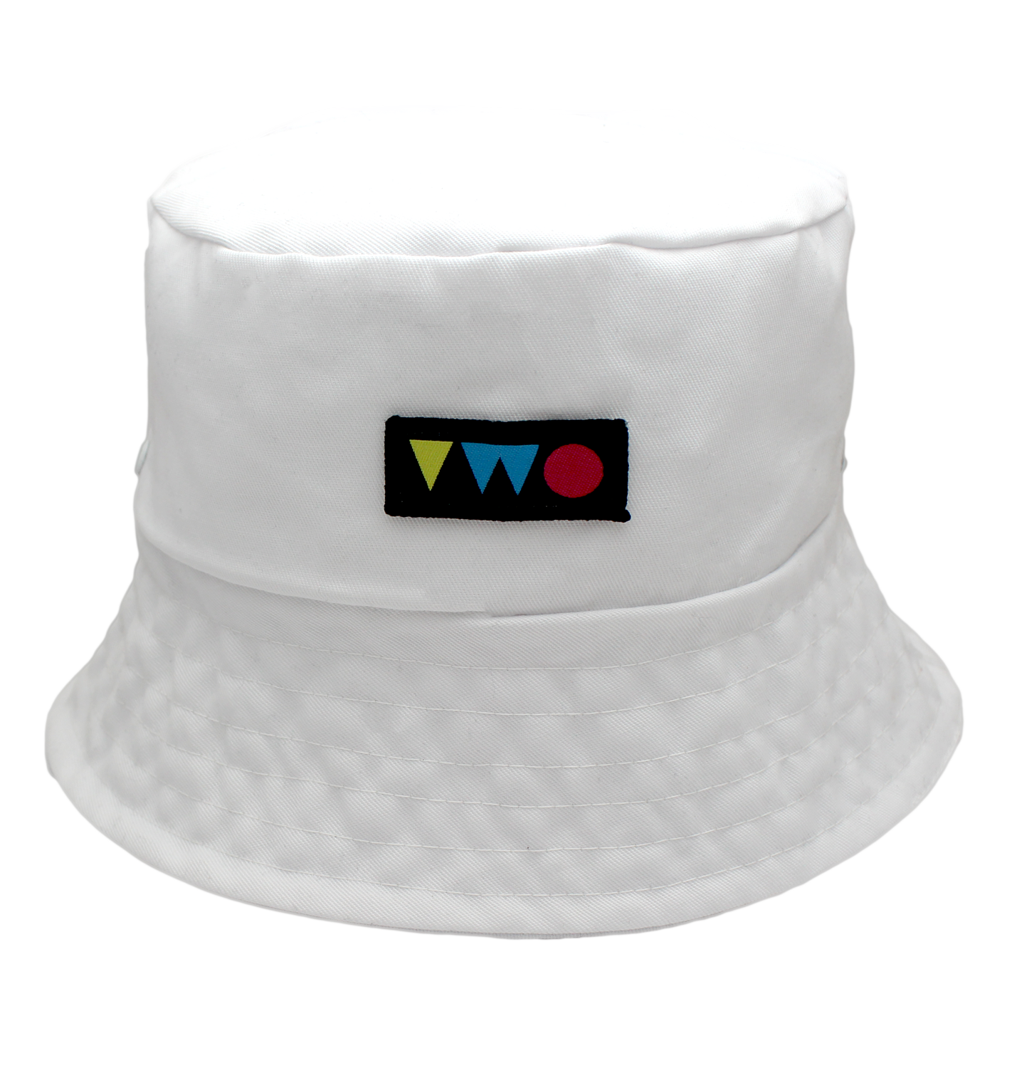 TWO PLAY BUCKET HAT | WHITE