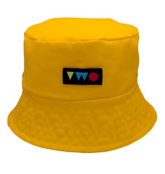 TWO PLAY BUCKET HAT | YELLOW