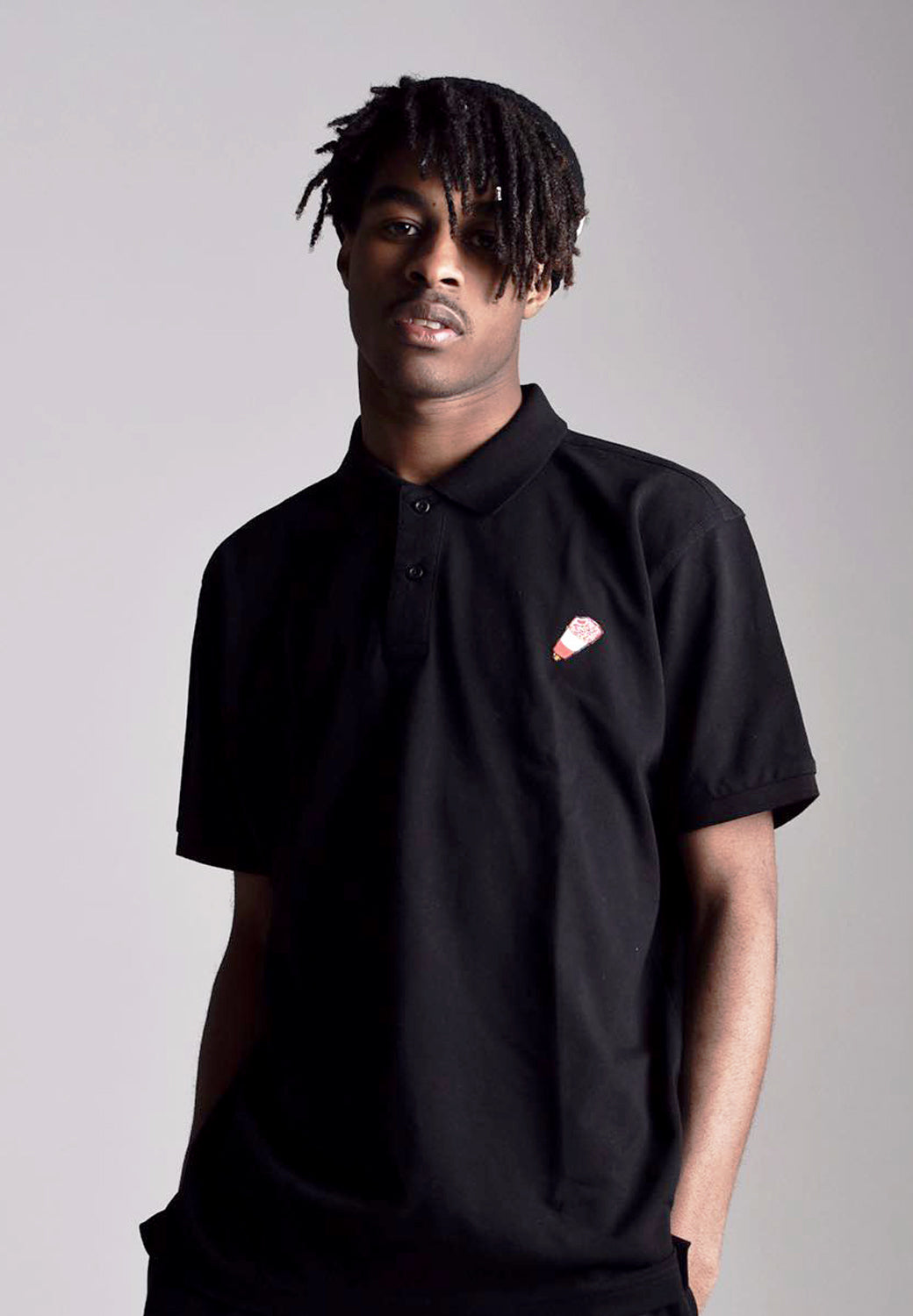 TWO X JAEJUSTJ | SUMMERTIME MADNESS FAB POLO | BLACK