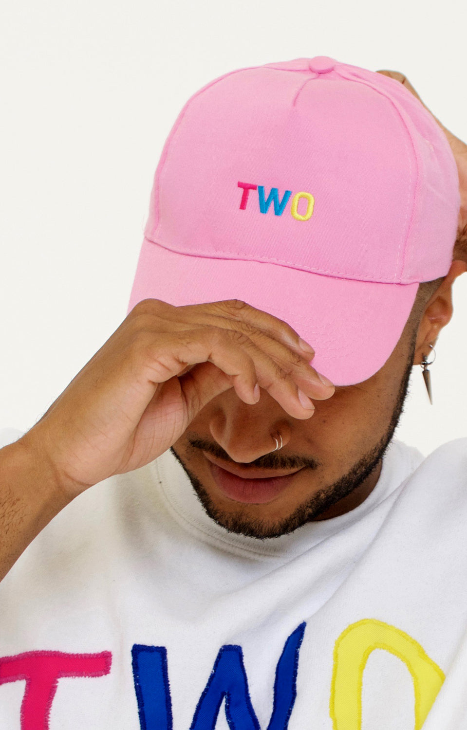 TWO LOW PROFILE DADDY HAT | PINK