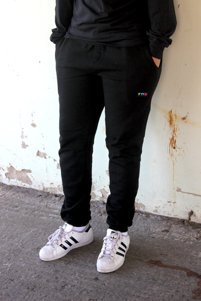 TWO PLAY JOGGING BOTTOMS | BLACK