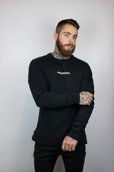 TURCOTTE  SWEATSHIRT - BLACK