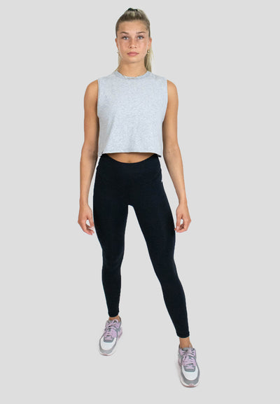 High Rise Super Soft Leggings - Black