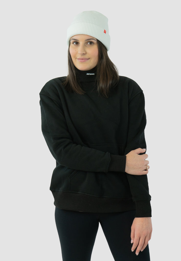 APXWS Thick Turtleneck T-Shirt - Black
