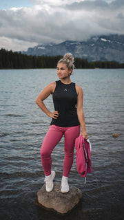 Extra Breathable Tank - Charcoal