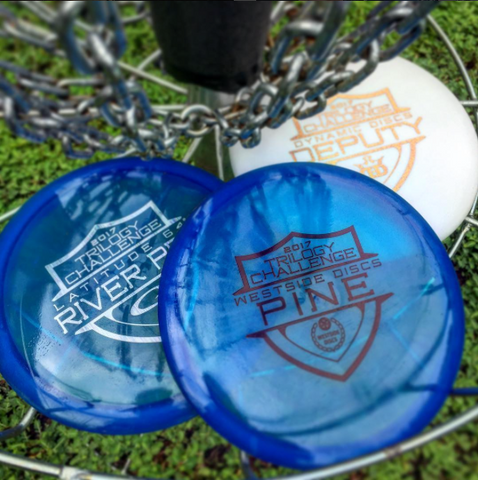 Disc Golf Pins Trilogy Challenge
