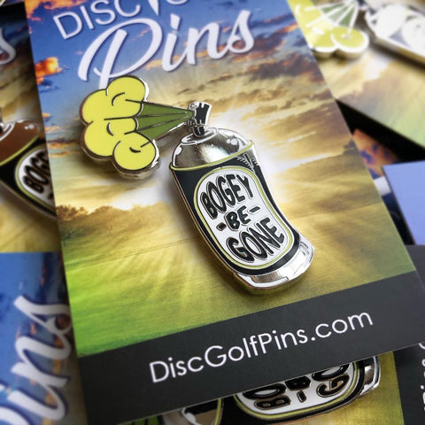 Bogey-Be-Gone Spray Disc Golf Pin