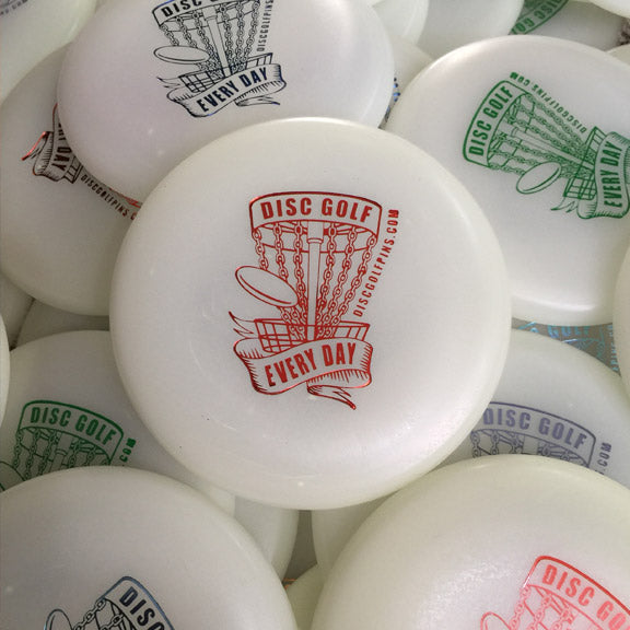 Disc Golf Every Day Basket Mini Marker - GLOW