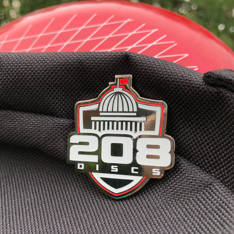 208 Discs Disc Golf Pin