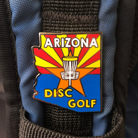 Arizona State Disc Golf Pin