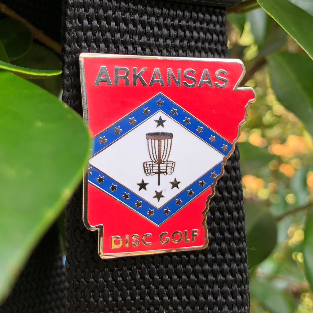 Arkansas State Disc Golf Pin