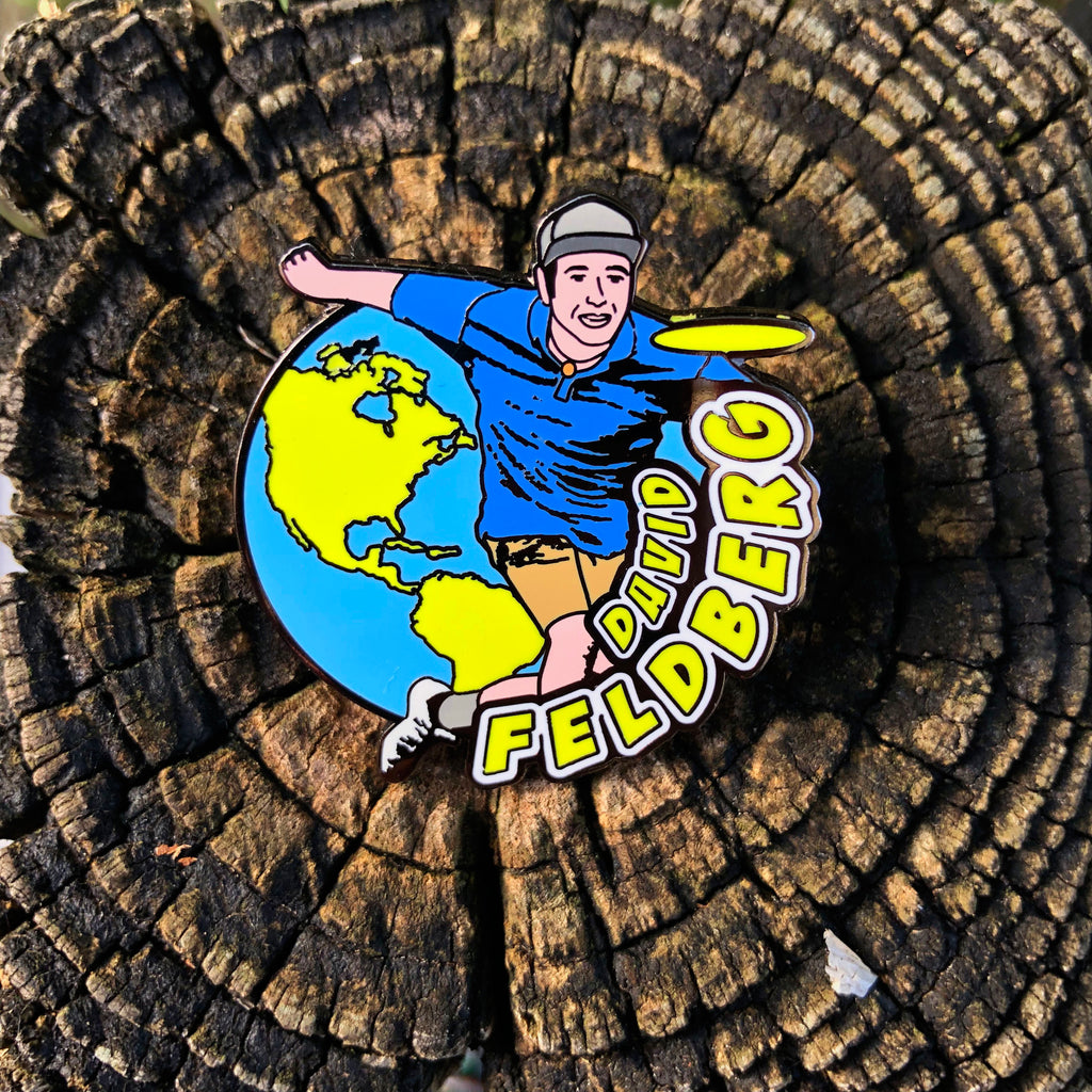 David Feldberg Disc Golf Pin - Series 1