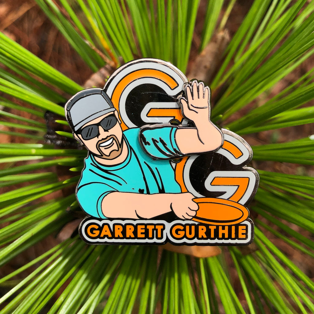 "Garrett Gurthie ""Double G"" Disc Golf Pin - Series 1"