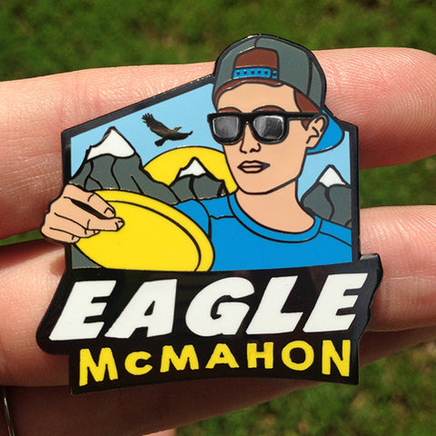 Eagle McMahon Disc Golf Pin - Series 1