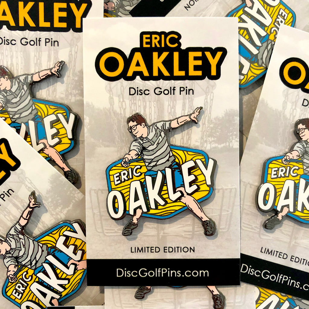 Eric Oakley Disc Golf Pin - Series 1