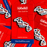 Hawaii Disc Golf Pin