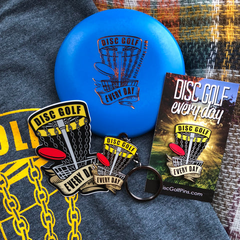Disc Golf Every Day - Gift Set
