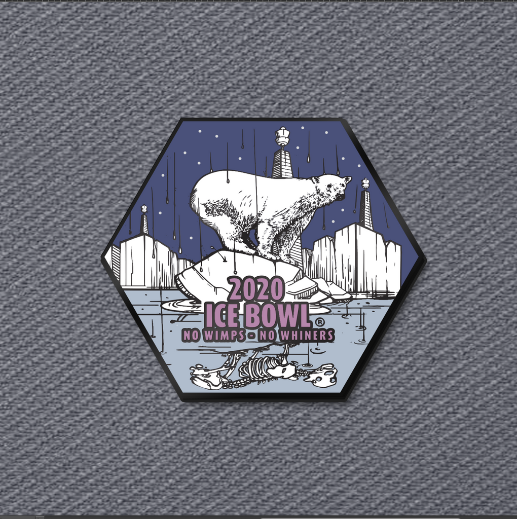 PREORDER - Ice Bowl 2020 Event Disc Golf Pin