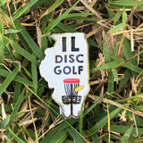 Illinois Disc Golf Pin