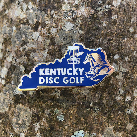 Kentucky Disc Golf Pin