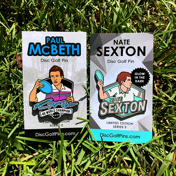 McSexy Disc Golf Pin Set - Sexton and McBeth