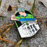 Nate Doss Disc Golf Pin - Series 1