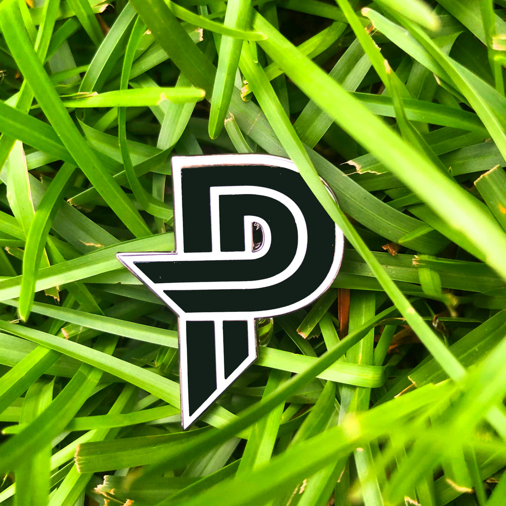 Paige Pierce - PP LOGO - Disc Golf Pin