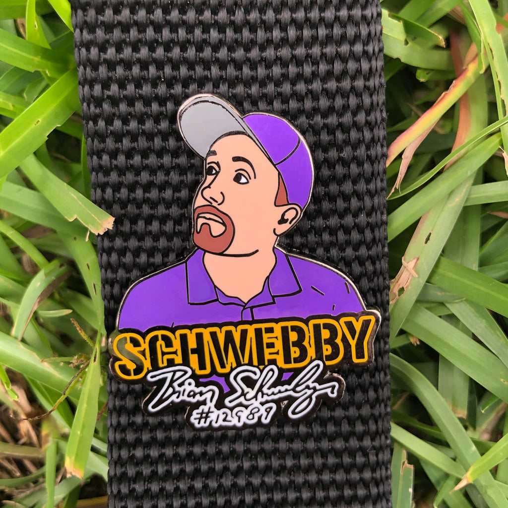 "Brian Schweberger ""Schwebby"" Disc Golf Pin - Series 1"