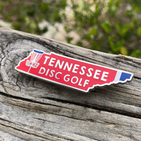 Tennessee Disc Golf Pin