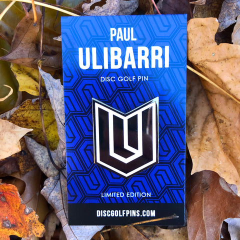 Paul Ulibarri Logo Disc Golf Pin - Series 2