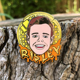 "A.J. Risley's ""Spinner"" Disc Golf Pin - Series 1"