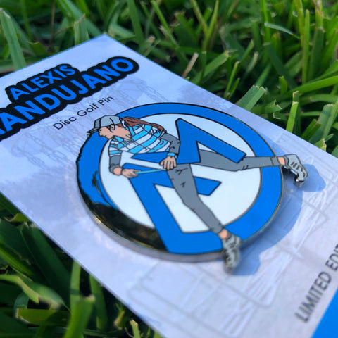 Alexis Mandujano Disc Golf Pin - Series 1