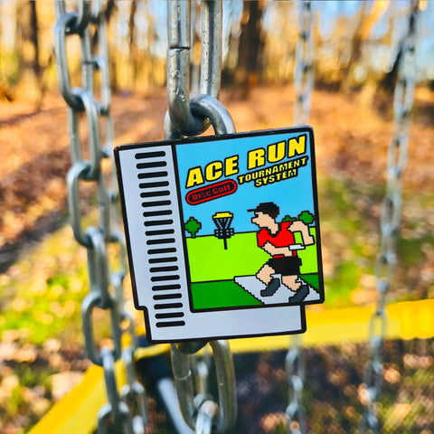 Ace Run Disc Golf Pin
