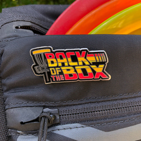 Back of the Box Disc Golf Pin