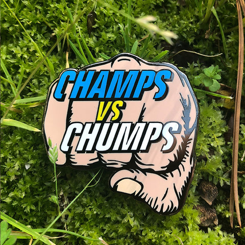 Champs VS Chumps Disc Golf Pin