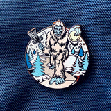 Get OUT Of My Forest! - Holiday 2019 Yeti Disc Golf Pin