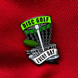 Disc Golf Every Day Basket Pin - SET OF 4