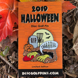Halloween 2019 Zombie Disc Golf Pin