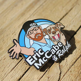 Eric McCabe & Ralph Disc Golf Pin - Series 1