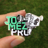 JOMEZ Camera Logo Disc Golf Pin