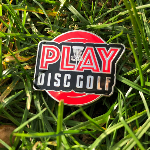 Play Disc Golf - Disc Golf Pin