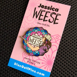 Jessica Weese Series 2 Disc Golf Pin