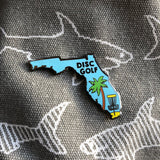 Florida Disc Golf Pin