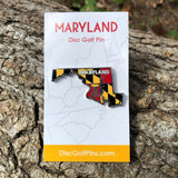 Maryland Disc Golf Pin