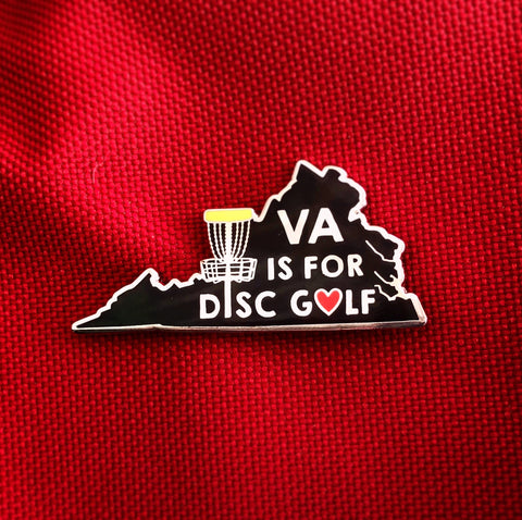 Virginia Disc Golf Pin