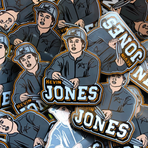 Kevin Jones Disc Golf Pin - Series 1