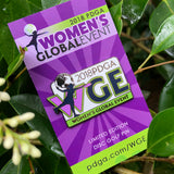 Women's Global Event Disc Golf Pin